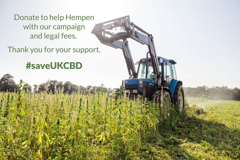 Donate to Hempen's legal and campaign costs