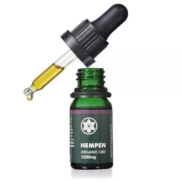 Hempen Organic CBD Oil 1500mg dropper
