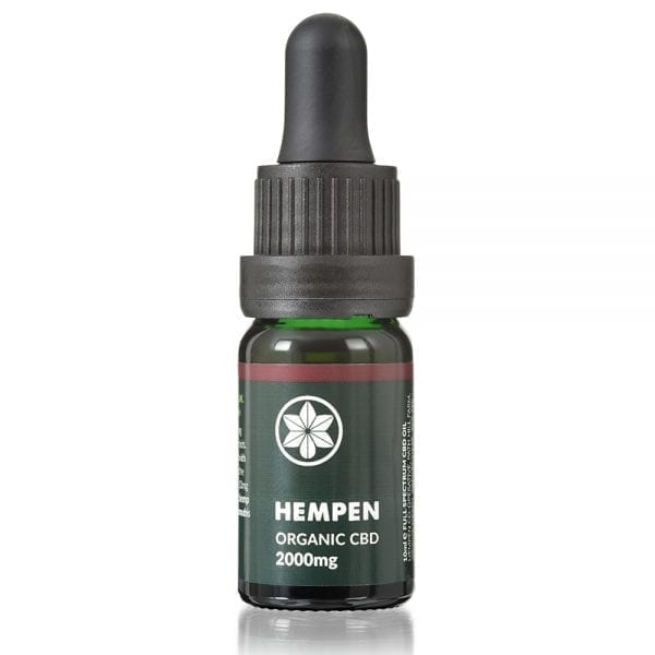 Hempen Organic CBD Oil 2000mg dropper