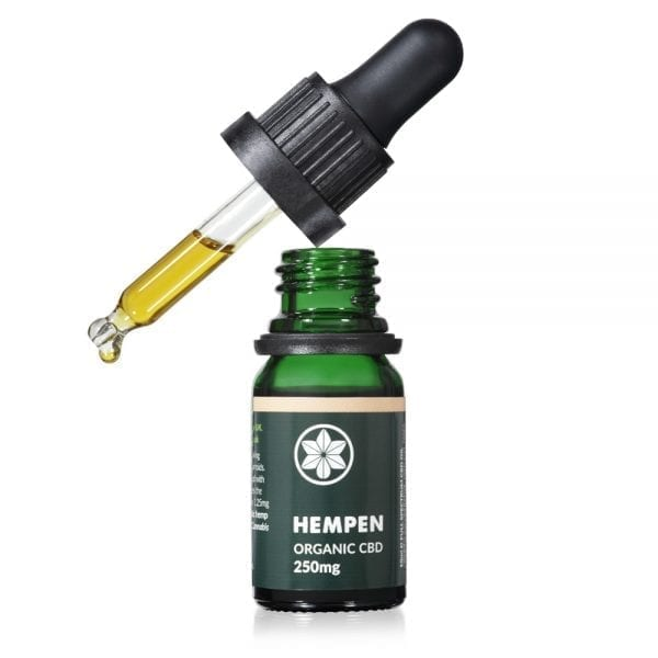 Hempen Organic CBD Oil 250mg dropper