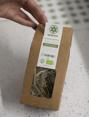 hemp stem hebral tea
