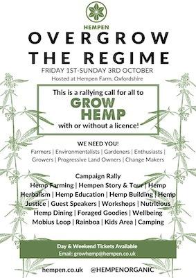 Overgrow The Regime Hempen Event